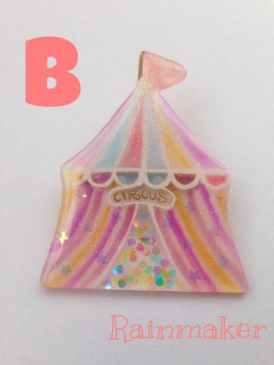 Circus brooch