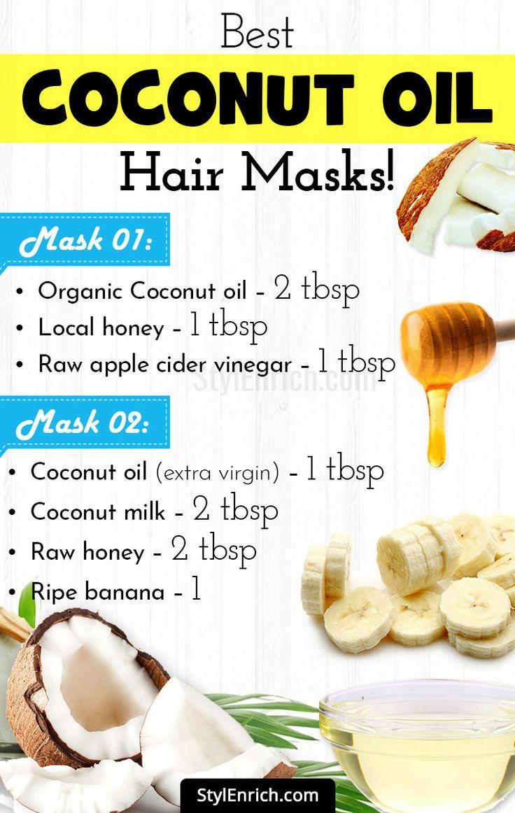 Coconut Oil Hair Masks for Rejuvenating Your Hair