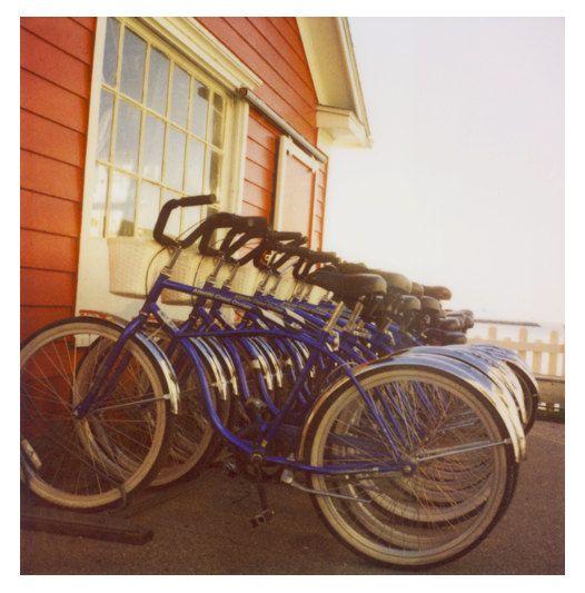 Polaroid Photograph Bike Photograph  Bicycle  Summer by AliciaBock, $35.00