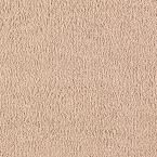 Opulent II (S) - Color Feather Light Texture 12 ft. Carpet, Beige/Ivory