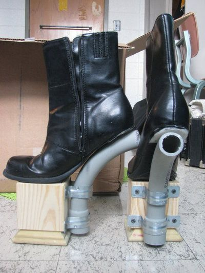 Image result for make hoof and leg costume