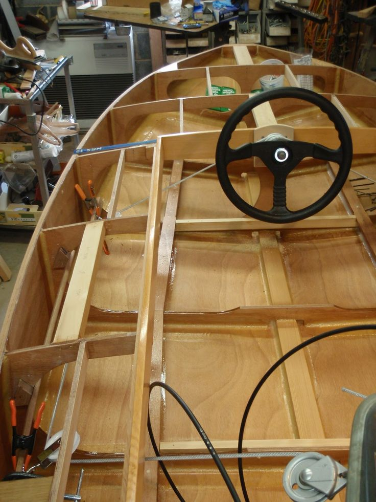 how to build a 16 foot wooden boat