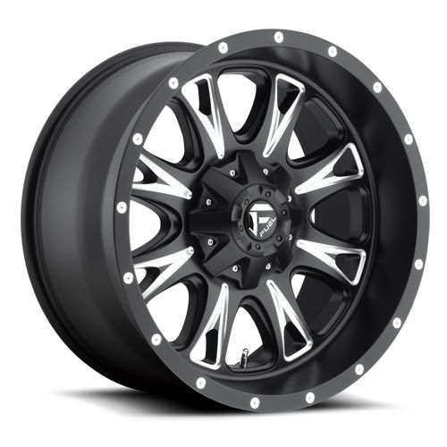 Throttle - D513 - Fuel Off-Road Wheels
