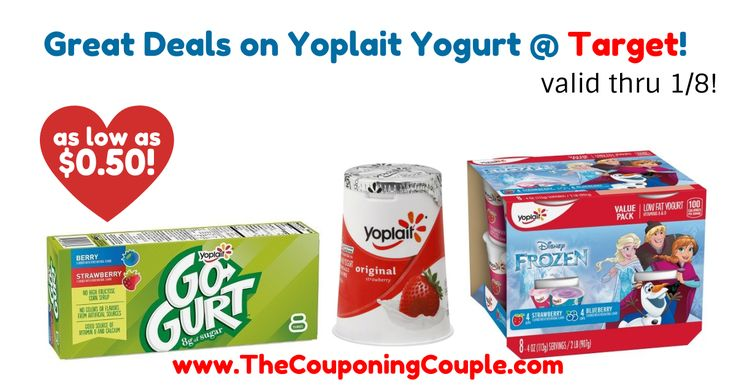 AWESOME Savings for Yoplait Yogurts! Perfect time to stock up for the kiddos! Great Deals on Yoplait Yogurt @ Target!  Click the link below to get all of the details ► http://www.thecouponingcouple.com/great-deals-on-yoplait-yogurt-target/ #Coupons #Couponing #CouponCommunity  Visit us at http://www.thecouponingcouple.com for more great posts!
