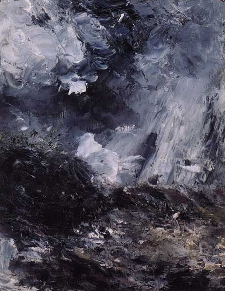 • AUGUST STRINDBERG (1849-1912) • Svartsjukans Natt (Jealousy's Night) • 1893, oil on canvas •