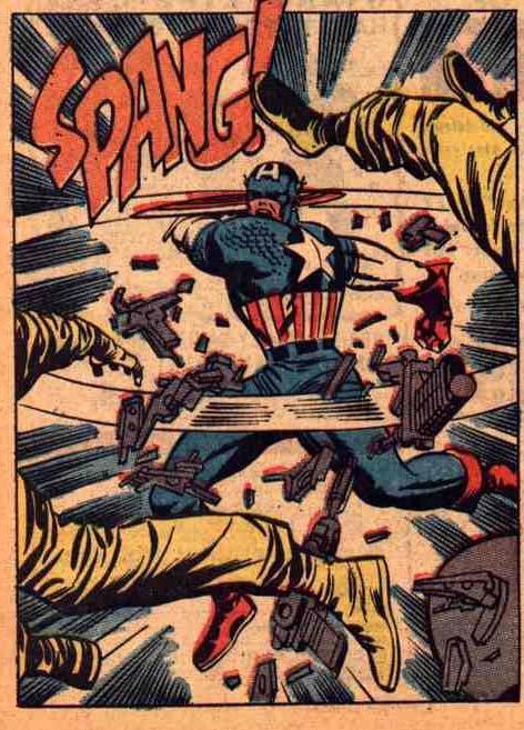 Jack Kirby, Captain America
