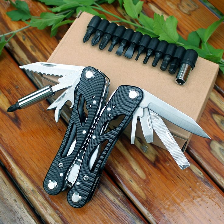 22 Multifunctional Folding Knife Plier Pocket EDC Tools Fishing Pliers Outdoor Survival Combination Multitools Camping Knife