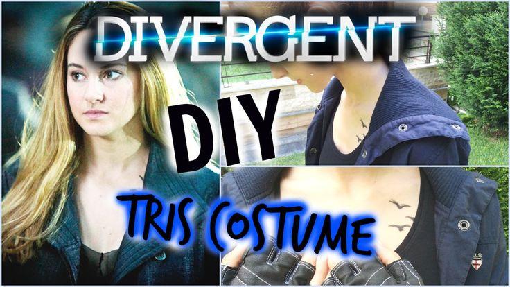 DIY Divergent Tris: Halloween Costume