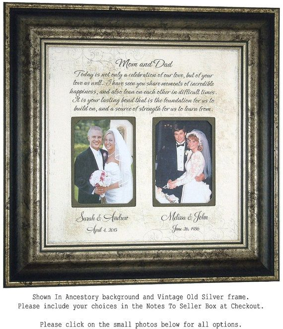 Wedding Gift For Parents Mother Of The Groom Bride