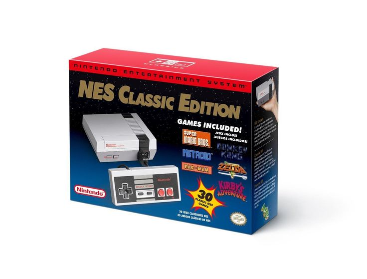 Video Gaming: Nintendo Classic Nes Mini Console 30 Games New Rare Video Game System Nib Usa -> BUY IT NOW ONLY: $229.99 on eBay!