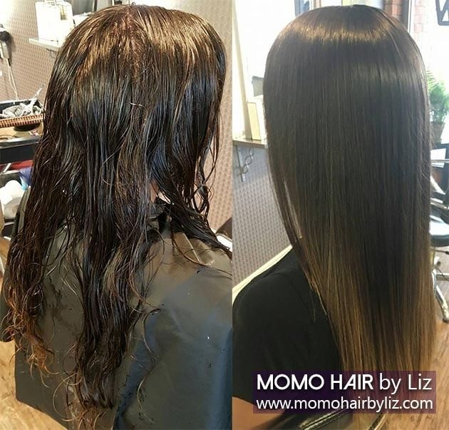 Japanese hair straightening men