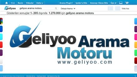 Türkiye'nin tek gelişmiş arama motoru şimdi geliyoo spider ile tüm dünyayı indexliyor. Geliyoo Web, PDF, Forum, Resim, Twitter, eBay, Amazon, iTunes, Video ve bir çok özel arama sistemi ile size en doğru güvenilir bilgiyi sağlar.