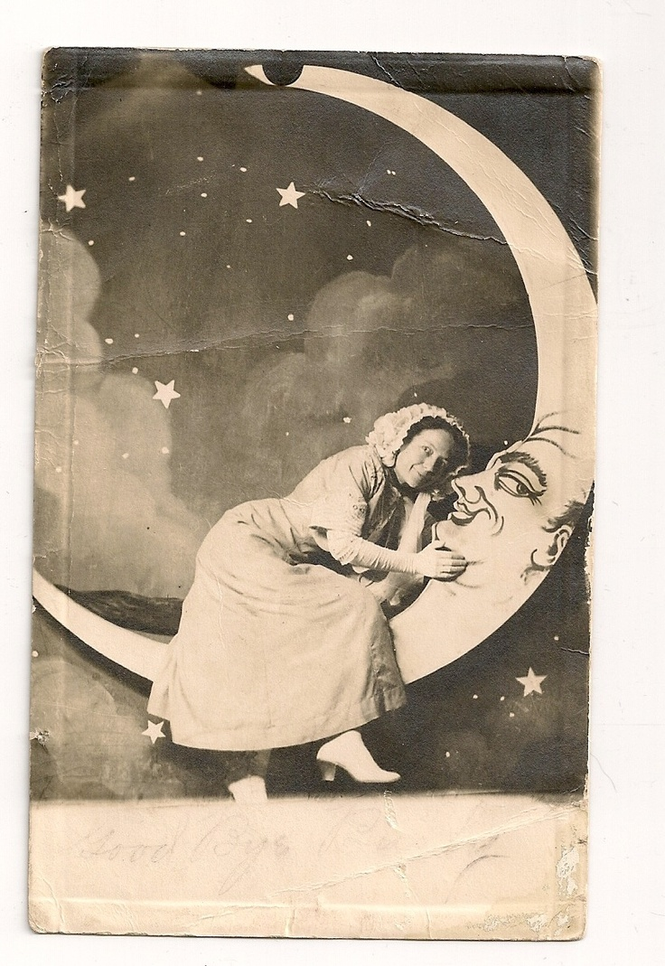 RPPC Postcard of Photograph with The Cresent Moon Stamp Postmark 1911 | eBay