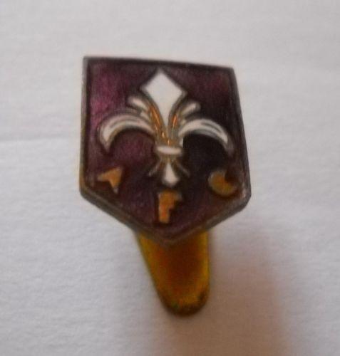 calcio distintivo spilla ACF Fiorentina vecchia old pin football badge