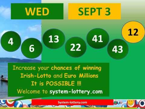 Irish Lotto draw wednesday numbers result september 3 - (More info on: https://1-W-W.COM/lottery/irish-lotto-draw-wednesday-numbers-result-september-3/)
