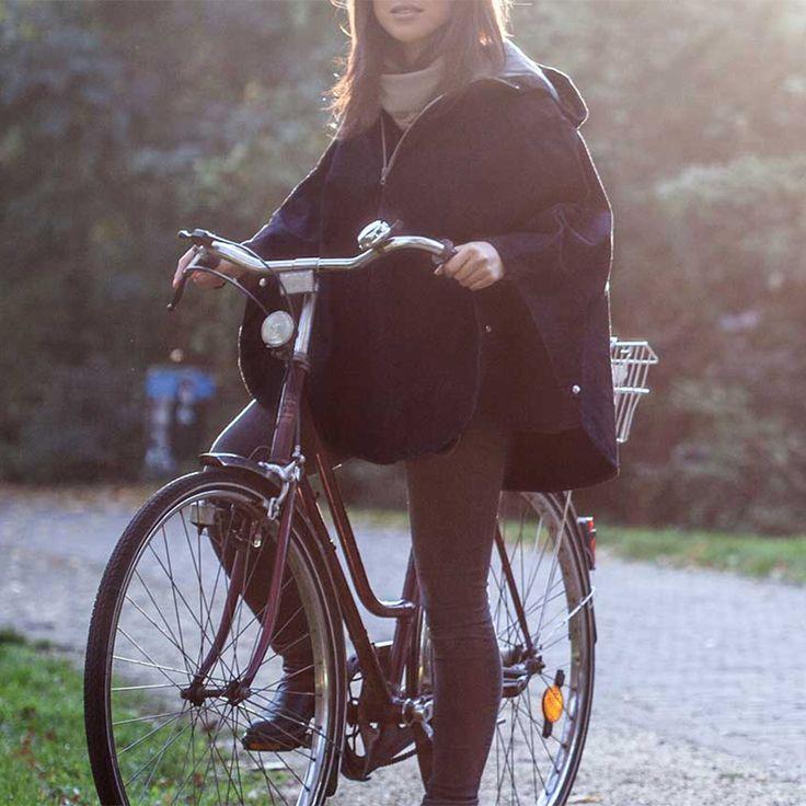 Allwettercapes für Radfahrer von Otto London – Urban Poncho