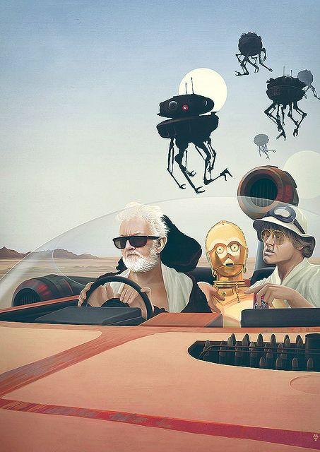 Fear & Loathing on Tatooine by Anton Marrast