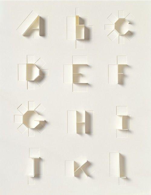 Typographic folds