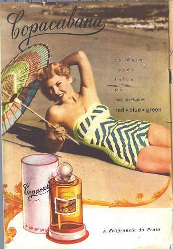 Fon Fon n.2380, Copacabana perfume, 22 November 1952 #vintage #perfume #ad