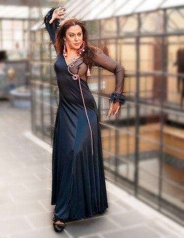 Dark Blue Dress - Rosalía Zahíno http://rosalia-zahino.myshopify.com/products/dark-blue-dress