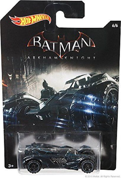Batman Arkham Knight Batmobile by Hot Wheels