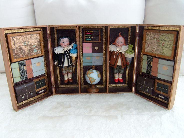 antike Klappschule mit Max und Moritz  | eBay