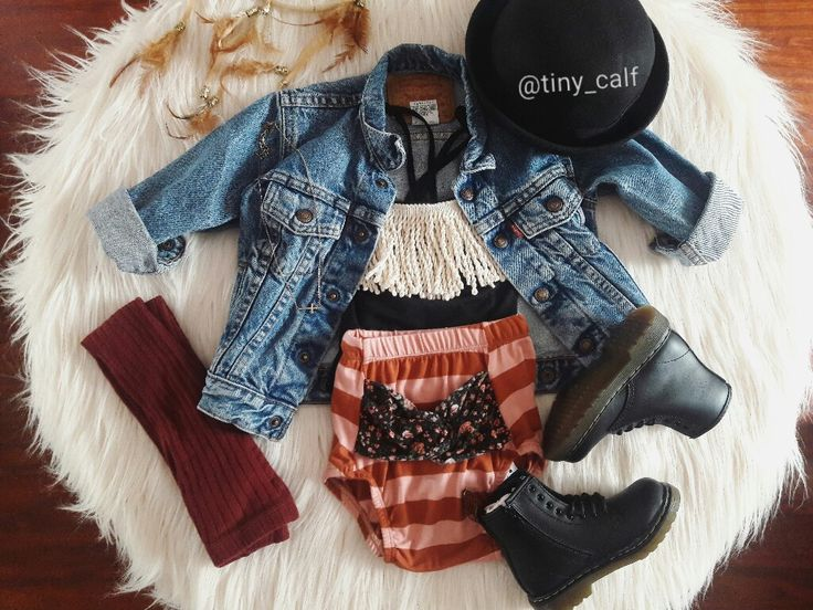 Baby girl/toddler fall outfit. Fall style/fashion. Boho. Bohemian. Doc Martens. Dr. Martens. Docs. Levis denim jacket. Zara baby. Toddler bowler hat. Hipster baby/toddler. Boho. Bohemian. Boho toddler/baby.