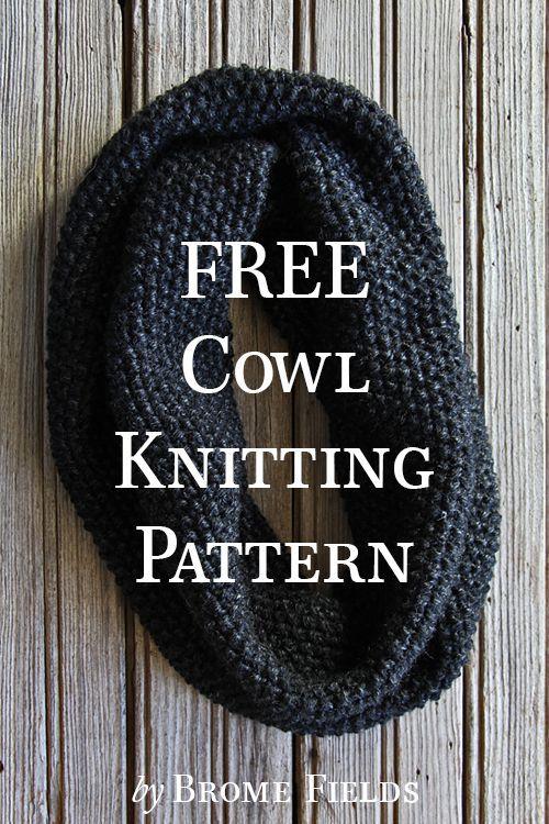 FREE Cowl Knitting Pattern