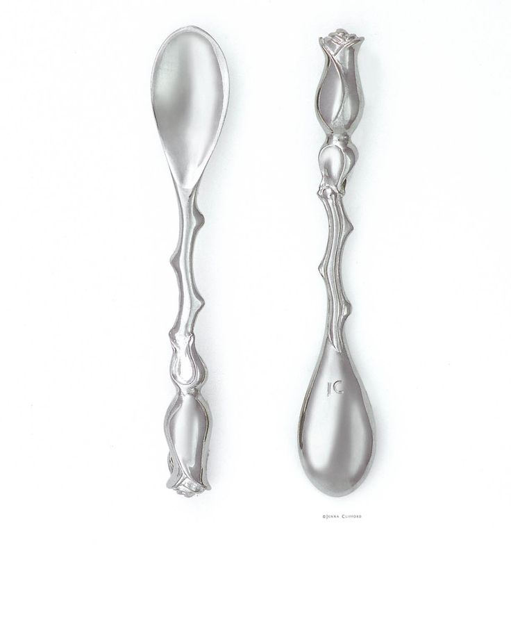 Make every cup of tea a special celebration with the JC Rose Teaspoon – Jenna Clifford