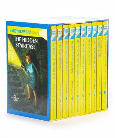Love this Nancy Drew Books 1 to 10 Boxed Hardcover Set on #zulily! #zulilyfinds