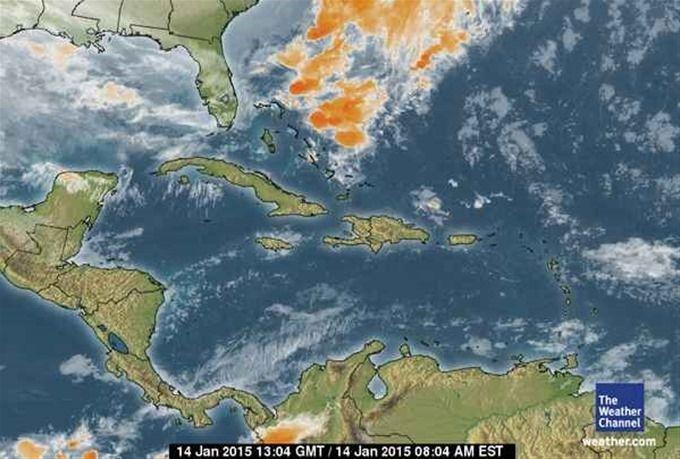 Vaguada Sobre Cuba Provocará Lluvia Mañana En Algunas Regiones Del País