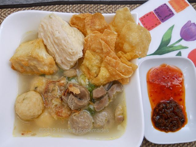 Bakso malang. Coming from malang, a cool place which needs something warm. Yummy..