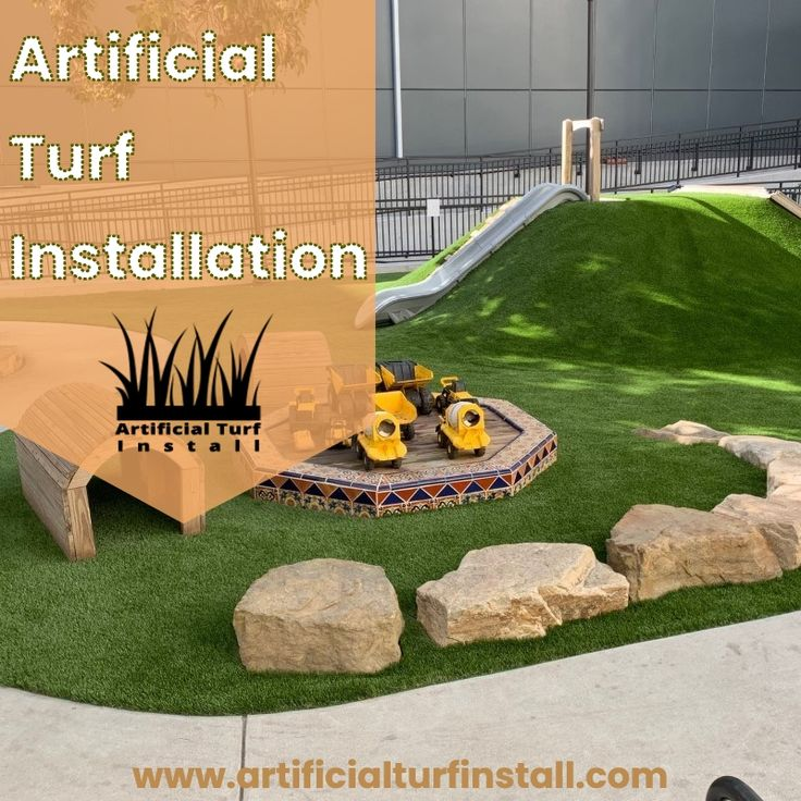 Evolution of with images turf installation installing