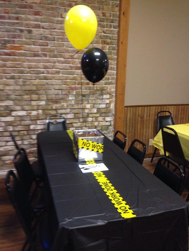 Retirement party decorations