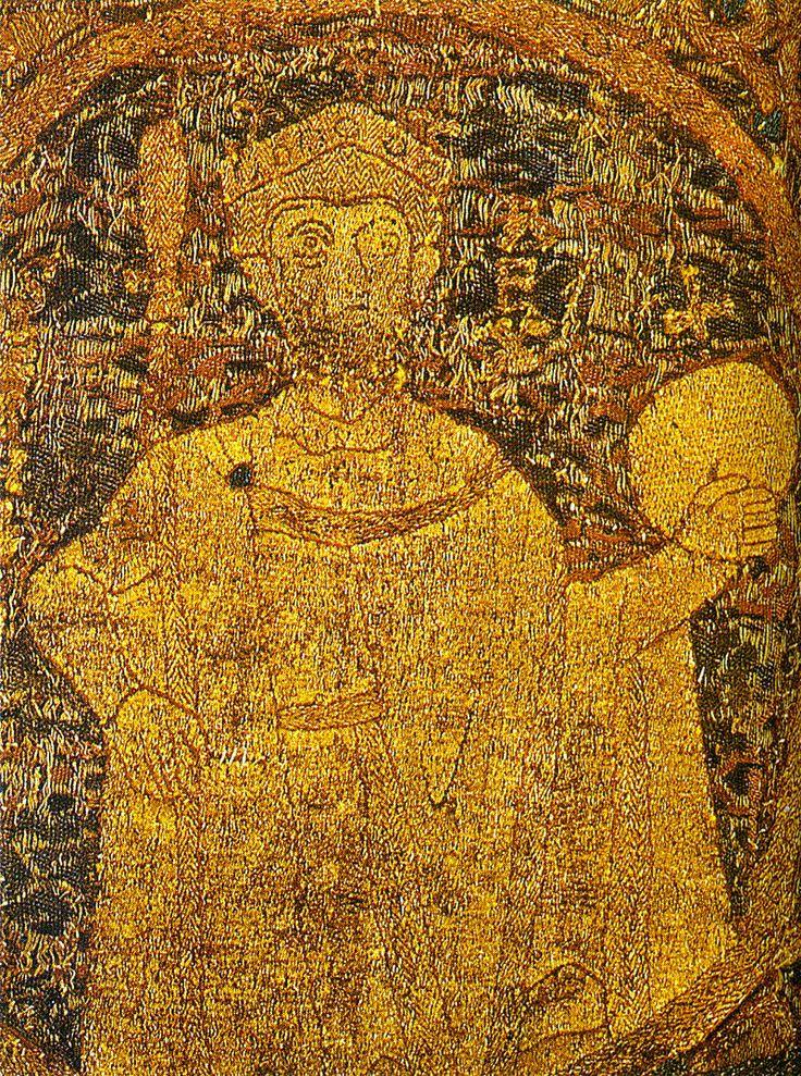 I. István egyetlen fennmaradt korabeli ábrázolása a koronázási paláston látható