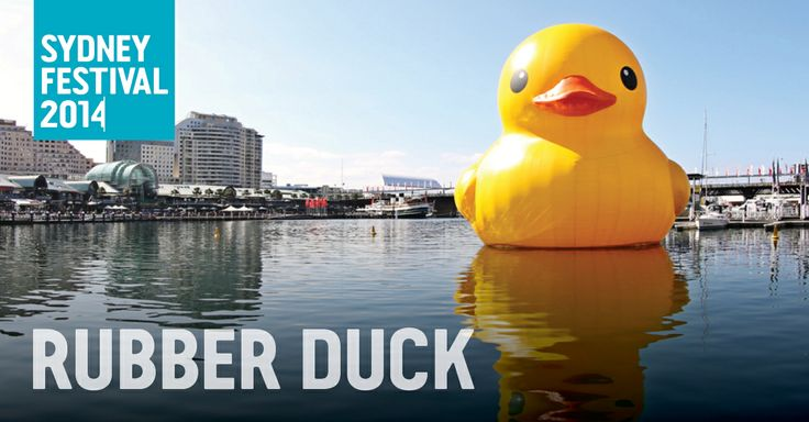 Rubber Duck - Sydney Festival in Parramatta