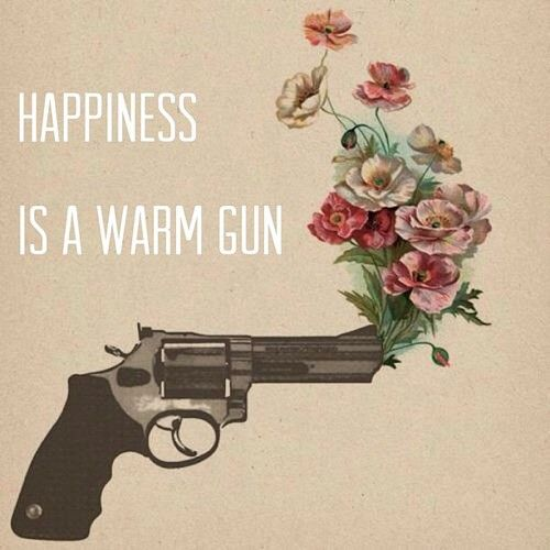 Happiness is a warm gun