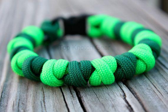 The Prayer Bead  Paracord Bracelet Custom Colors by TopKnotchGear, $12.00