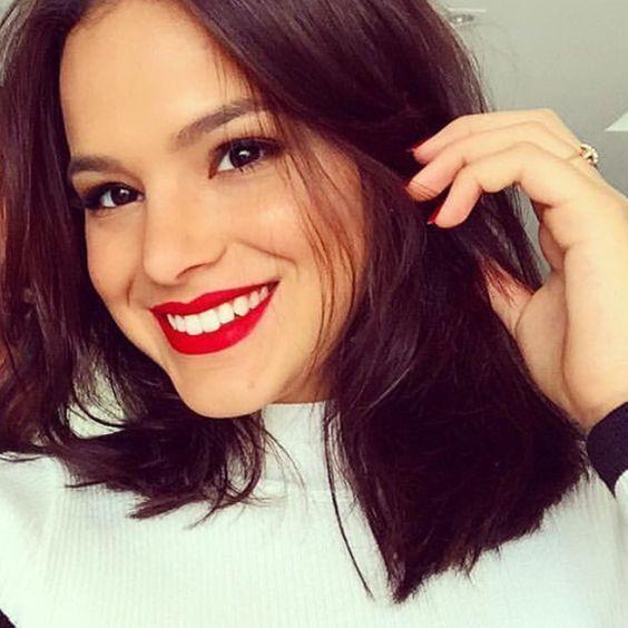 Cortes de cabelo 2018 - Bruna Marquezine
