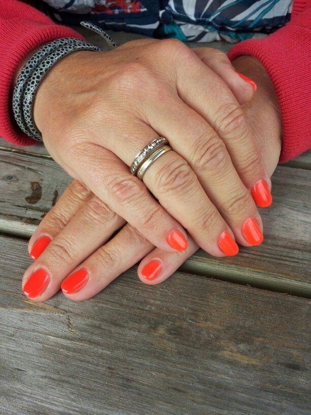 Gellak neon orange