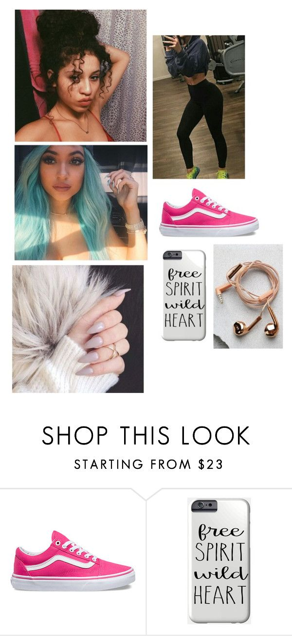 """""""Pose With Your Brother Won't You Be A Good Sister"""" by paukar ❤ liked on Polyvore featuring Vans and Happy Plugs"""