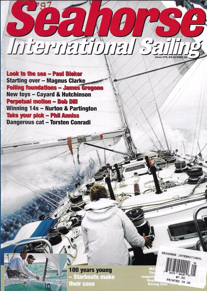 Seahorse International Sailing magazine The sea Starting over Foiling foundation
