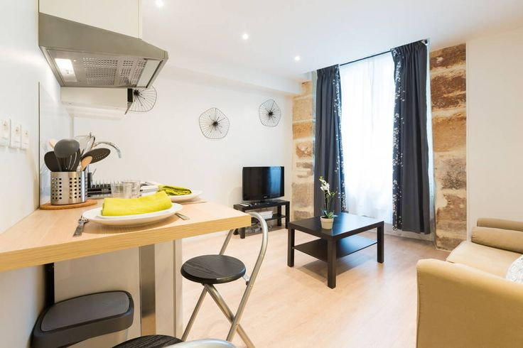 Apartment in Paris, France. The apartment is located at a charming street in a typical Parisian building, very close to Notre Dame and the Latin Quarter. The metro stations,  Jussieu and Cardinal Lemoine are also just a few steps away.  The apartment is located in a charming...