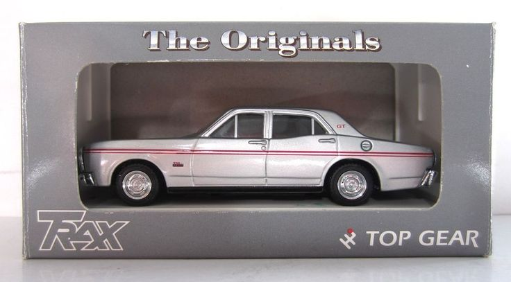 FORD XT FALCON GT SEDAN 1968 302 V8 model 1/43 original TRAX rare diecast TR24B  #TRAX #FORD
