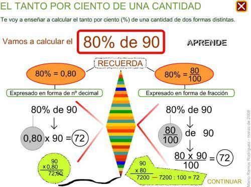 7 best proporcionalidad images on Pinterest | Problemas, Porcentajes ...