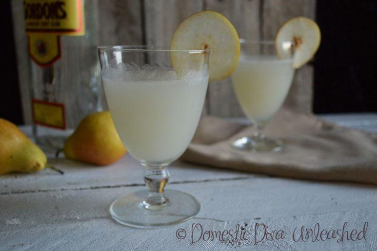 Domestic Diva -Gin & Pear Cocktails & Mocktails