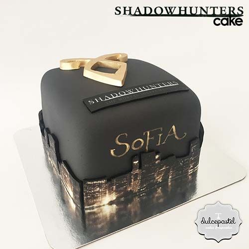 Shadow Hunters´Cake - Torta de Shadow Hunters - Tortas en Envigado - Tortas en Medellín, www.dulcepastel.com