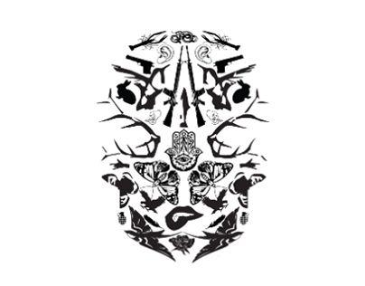 "Check out new work on my @Behance portfolio: ""Illustration tête de mort"" http://on.be.net/1Nfodba"