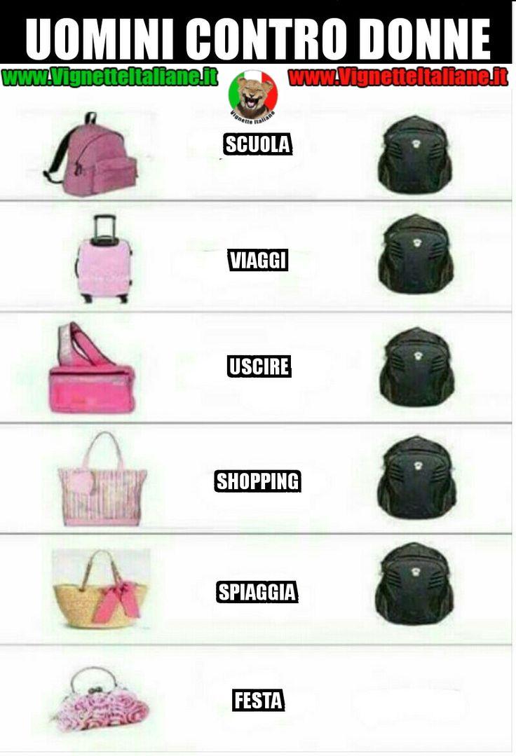 #Uomini contro #donne #vignetteitaliane.it #vignette #divertenti #italiane #funny #lol #immagini #pics #umorismo #risate #ridere