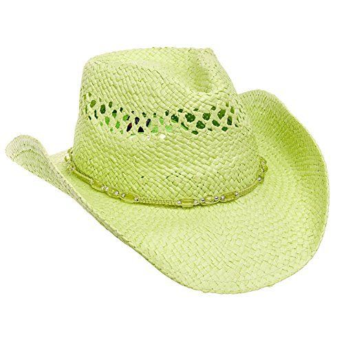 Complete your country style with this MG Outback Toyo Straw Cowboy Hat from Mega Cap. These cowboy hats are made from 100% paper straw. Features include an elastic band that not only ensures a snug & comfortable fit, but also helps serve as a sweat band on those hot summer days. These cowboy...